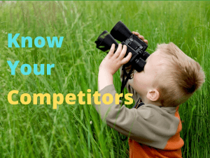 Gather intelligence about your competitors products, services, prices and marketing