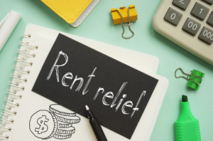 Eligible tenants must make a written request to their landlord for relief